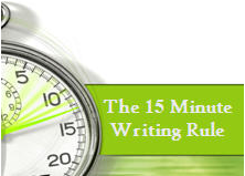 15 Minute Writing Rule