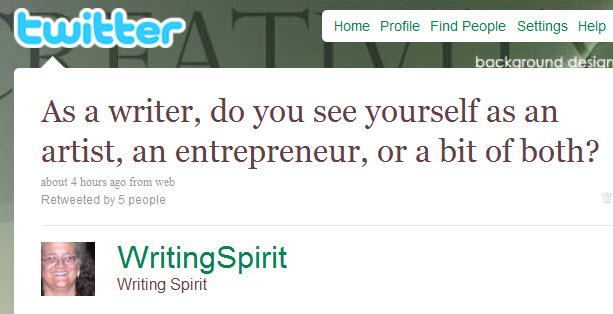 Artist or entrepreneur