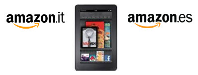Amazon Kindle Store Italy Spain