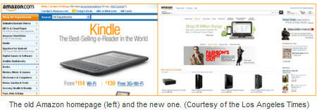 New Amazon Design