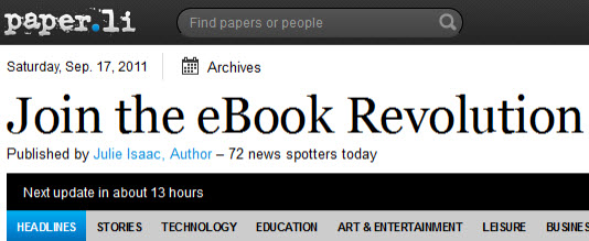 E-book revolution