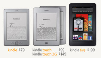 New Amazon Kindles