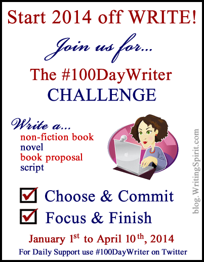 100 Day Writing Challenge 2014