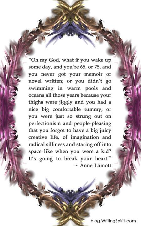Annie Lamott 65 Quote