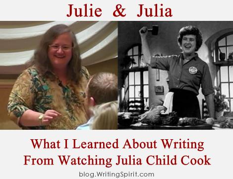 Julie Isaac & Julia Child